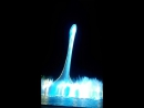 Красочное свето музыкальное шоу фонтанов в Олимпийском Парке г Сочи под песню Севастопольский Вальс