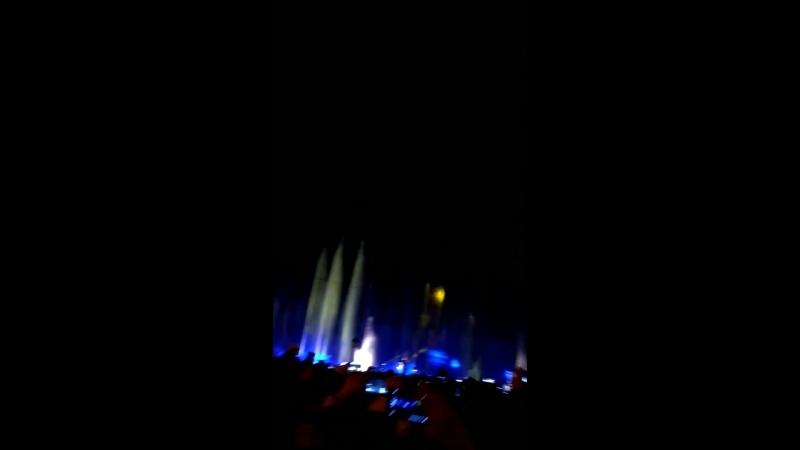 Светошоу с фьерверками у Останкино