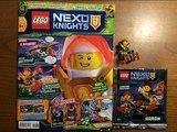 Обзор нового журнала Lego Nexo Knights #3 за 2018 год Минифигурка Аарона Фокса