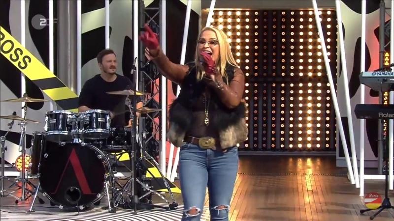 Anastacia «Im Outta Love» ZDF-Fernsehgarten 17. 09. 2017