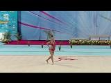 Екатерина Селезнева - лента (многоборье) // Этап Кубка Мира 2018, София