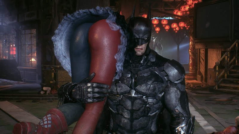Бэтмен и Робин против Харли Квинн Batman Arkham Knight 2015