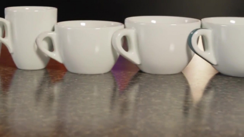 Итальянский фарфор Ancap, чашки Verona - самая популярная серия для кафе и ресторанов