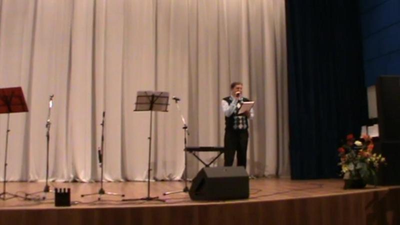 Концерт патриотической песни в г. Тосно, представление участников