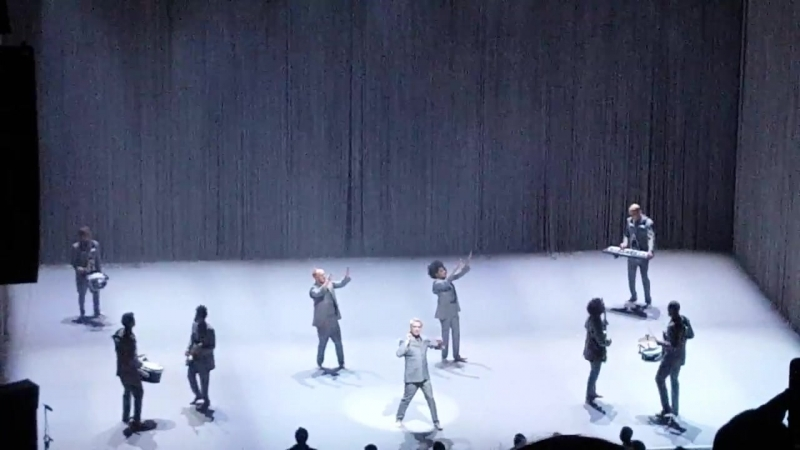 David Byrne American Utopia Tour 3.9.18 Waterbury, Ct This Must Be The Place{Nai