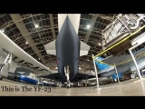 YF 23 «Чёрная вдова II» прототип многоцелевого истребителя пятого поколения «Bla_low.mp4