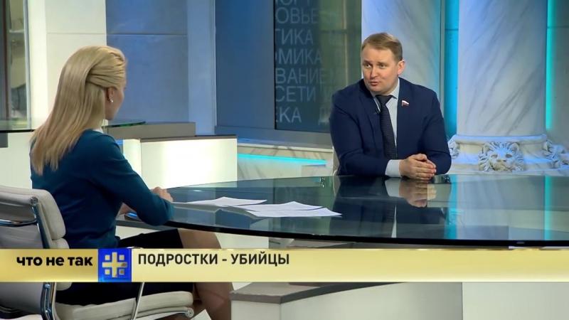 Эфир от 21.02.2018г. Царьград. Про подростков-убийц.