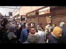 В Киеве активисты разгромили киоски восточных торгашей, которые избили военного пенсионера