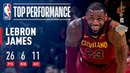 LeBron James Powers Cavs to 50th win of Season in MSG NBANews NBA Cavaliers LeBronJames
