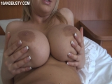 Sophie Mei (aka Sophie Mae) - Bed Solo,Blondes,Big natural tits,Boobs