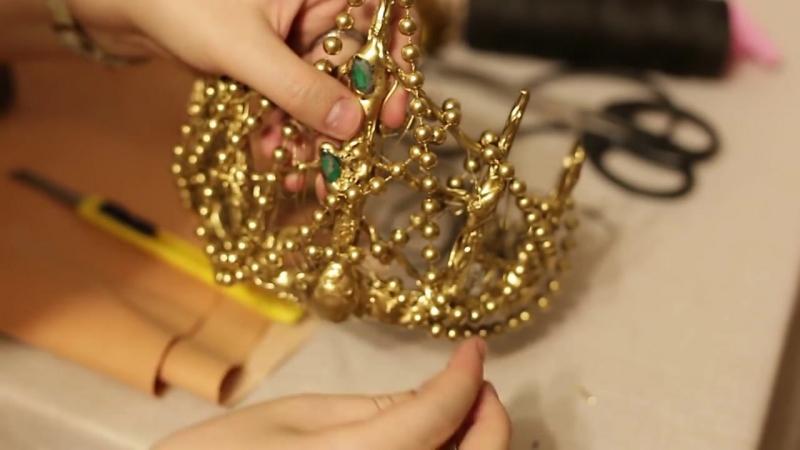 Корона русалочки своими руками (mermaid crown diy)