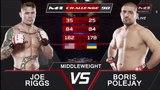 Джо Риггс vs Борис Полежай, M-1 Challenge 90