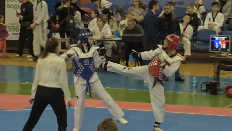 Рождественский турнир по Тхэквондо (ВТФ) Тверь 2018