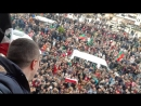 Курды Африна приветствуют передовые подразделения сирийских ополченцев