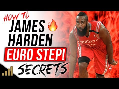 How to: JAMES HARDEN EURO STEP TUTORIAL! World's Best Basketball Moves