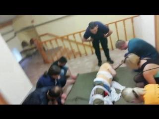 Заключительный этап эвакуации.. Спасибо нашим инструкторам за то адище что нам устроили😈