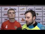 Шарапов Александр после матча сказал пару слов журналистам ...Флорбол #ФС2018 #Floorball