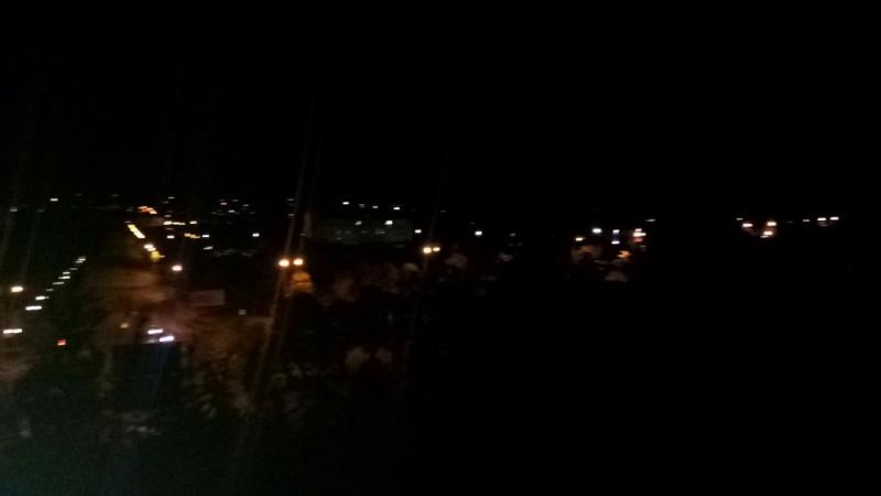 Ночной Кривбасс с моего балкона