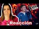 Juanse Laverde | La Voz Kids Colombia 2018 (REACCIÓN) | Natuchys