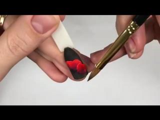 Плоскостная акриловая лепка