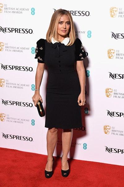 #News Сальма Хайек, Марго Робби, Грета Гервиг и другие на вечеринке в преддверии премии BAFTA