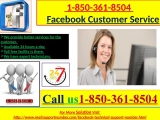 Call Facebook Customer Service For Instant Help call +1-850-361-8504