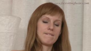 FacesittingLovers Demanding lady rides his face Olga Barz