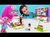 Страна девчонок • СМЕШАРИКИ и РОЗОЧКА на дне рождении с LEGO FRIENDS!