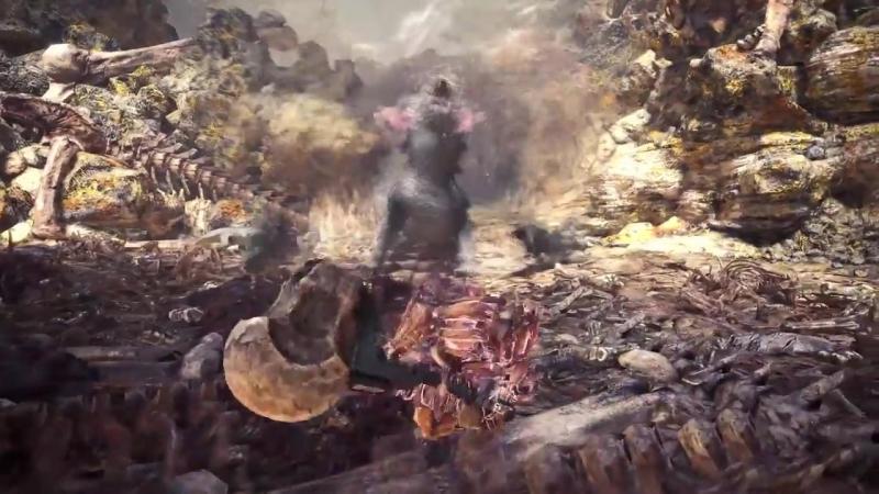 Monster Hunter World PS4 Trailer Aloy Crossover Costume PlayStation 4 Paris Games Week 2017