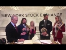 WWE Superstars Visited NYSE