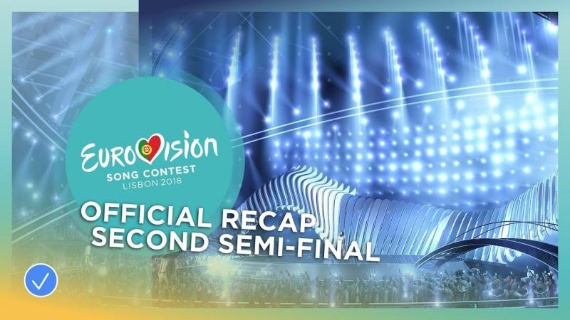 Евровидение Португалия 2018 - 2-й Полуфинал - 10.05.2018 [HD_1080p]