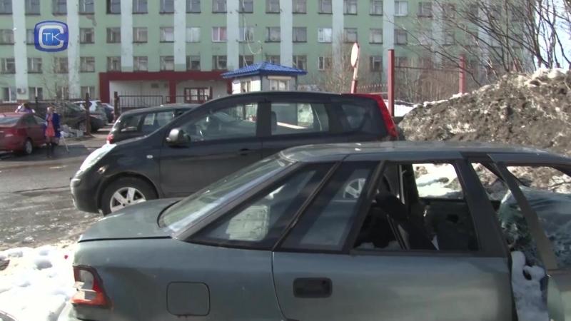 Эвакуация автохлама
