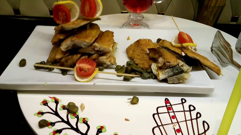 Ужин в отеле Azura Delux 5*\Dinner at the hotel Azura Deluxe 5*/September 2016