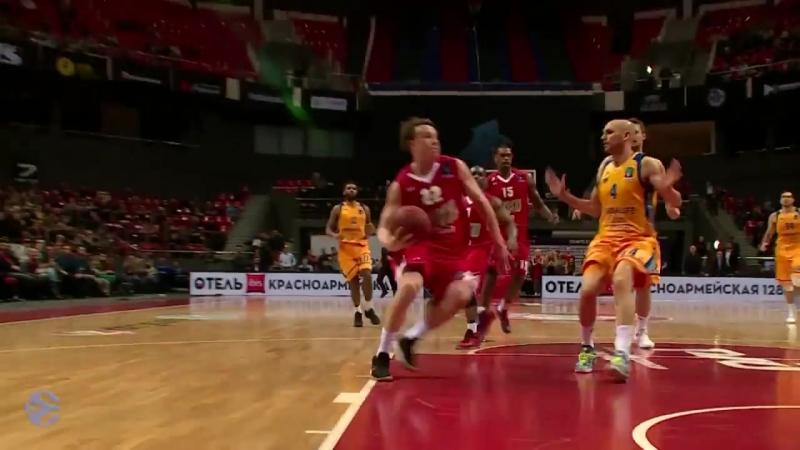 Топ 5 моментов четвертьфиналов в Еврокубке