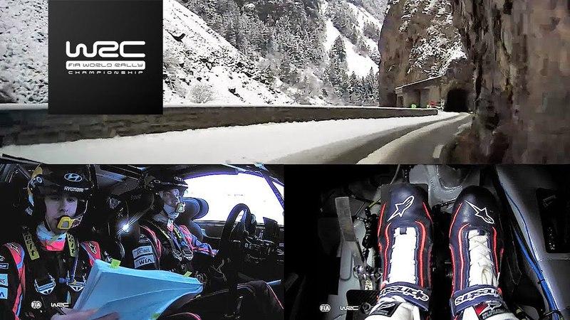 WRC - Rallye Monte-Carlo 2018 ONBOARD Mikkelsen SS09