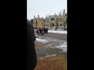 открытие главной ёлки Кисловодска