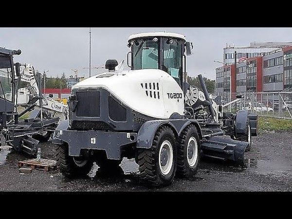 RM TEREX TG200 (аналог JOHN DEERE 622G) - ТО-250 (ТО через 250 моточасов) автогрейдера 18,8 т.