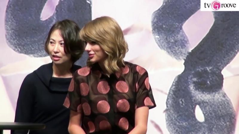 TAYLOR SWIFT Press Conference in JAPAN テイラー・スウィフト来日会見 来日公演のサプライズ発表&お気に入りの日本語も披露☆