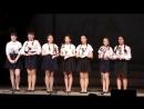 вокальная группа 9а класса на церемонии открытии памятника Российским немцам в Суерке