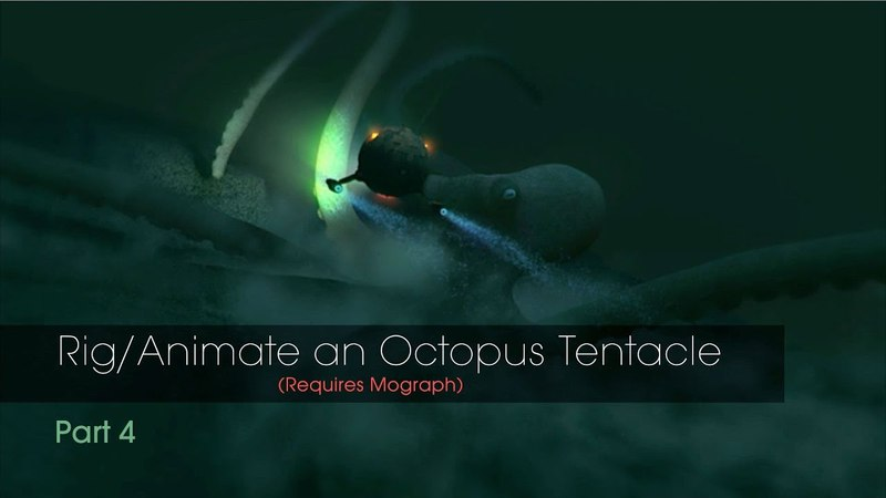 Part 4 Animate Octopus Tentacle