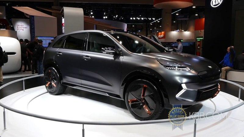 Kia Niro EV Concept - CES 2018