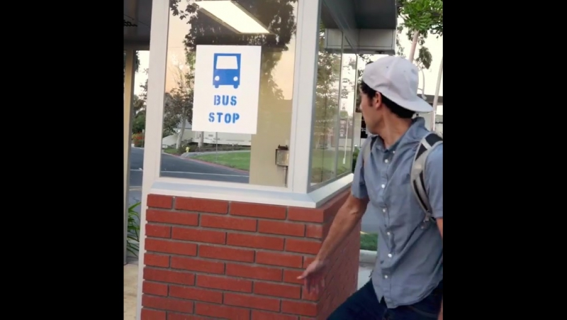 Зак Кинг (Zach King) - гений монтажа,фокусов и инстаграма!))Новое видео