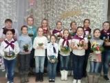 Ученицы Школы поздравляют Оксану Федорову с Днем Рождения