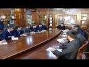 Совещание с руководящим составом Министерства экономики территориального развития и торговли ЧР