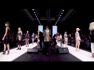 Mercedes-Benz Fashion Week Russia in one video.