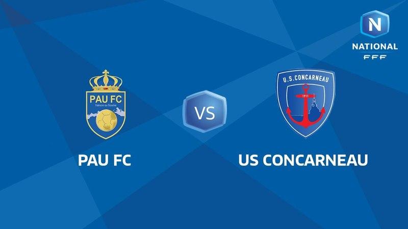 Samedi 31/03/2018 à 19h45 - Pau FC - US Concarneau - J28