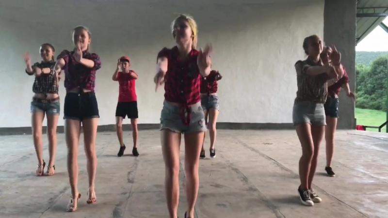 Monatik кружит голову Танец 1 отряда Горный 2 смена