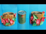 DIY How to Make Best Out of Waste Flower Vase !!! Jute Twine Flower Vase !!!