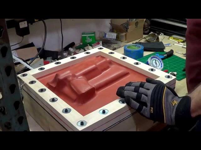. KYDEX Holster build using Vacuum press