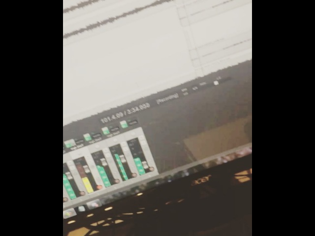 """AngelMaker on Instagram """"Throwback to a couple weeks ago finalizing some leads on the new tracks. WHO IS HYPED! 🤘 angelmaker deathcore decay"""""""